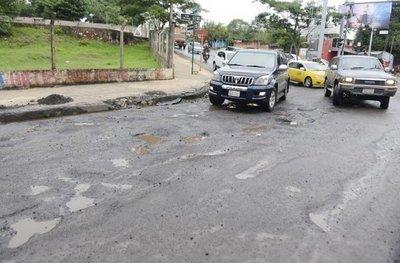Ferreiro culpa al temporal del abandonado estado de Asunción