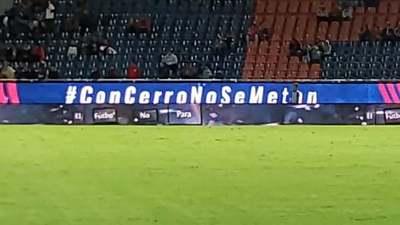 """""""Con Cerro no se metan"""": El llamativo mensaje en la Nueva Olla"""
