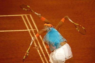 Alerta roja para Nadal a dos semanas de Roland Garros