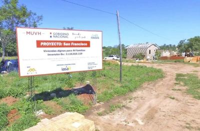 En 9 meses, Durand no culminó un solo proyecto habitacional