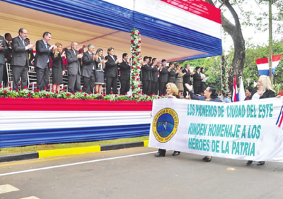Desfile en honor a la Patria
