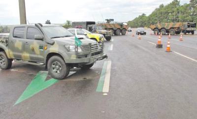 """Brasil refuerza acciones con operativo """"Muralla"""""""