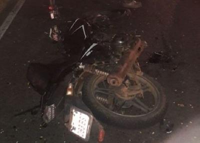 Choque entre motociclistas deja un fallecido y dos heridos