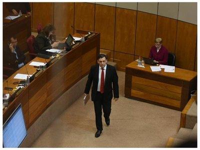 Víctor Bogado es expulsado del Senado