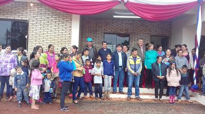 En Rancho Alegre, inauguran puesto de salud, pero no cuenta con equipos y médico