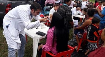 Asisten a desplazados con énfasis en detectar cuadros respiratorios