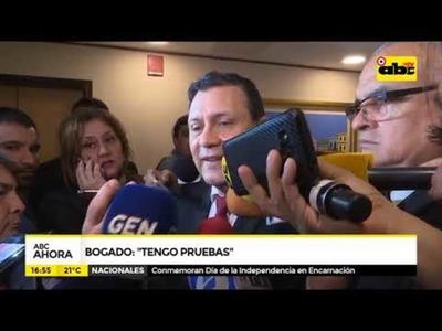Víctor Bogado: tengo pruebas de la presión que se ejerció