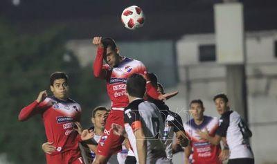 Pálido empate entre General Díaz y Nacional en Luque