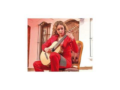La guitarrista Daiana Ferreira realiza gira por Suecia y Rusia