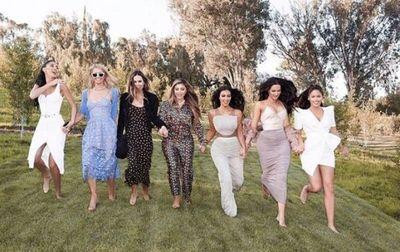 El lujoso baby shower de Kim Kardashian