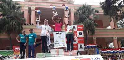 Fleitas y Villasanti ganaron corrida en el Guairá