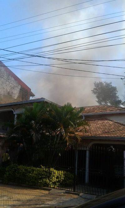 Carpintería en llamas
