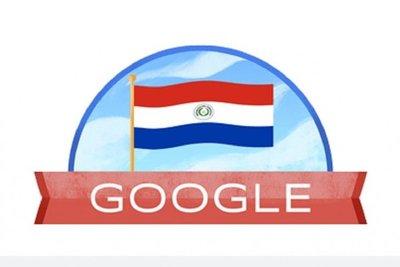 Google conmemora 208 años de Independencia del Paraguay