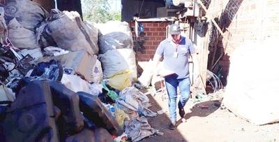 Concepción: Intervienen chatarrerías por mala disposición de residuos sólidos