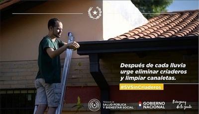 Clima favorece reproducción de Aedes aegypti