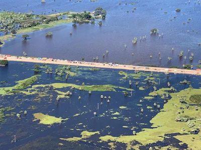 Recuperación de zonas inundadas tardará 120 días, según Villasanti
