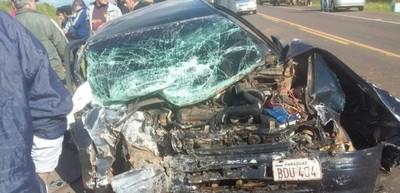 Accidente en Santaní deja un muerto y tres heridos