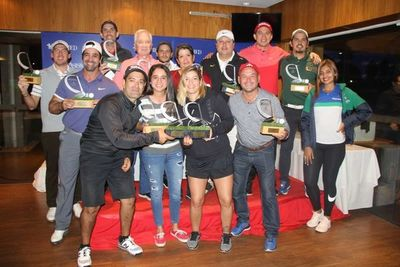 La Copa Asismed de golf premió a los mejores