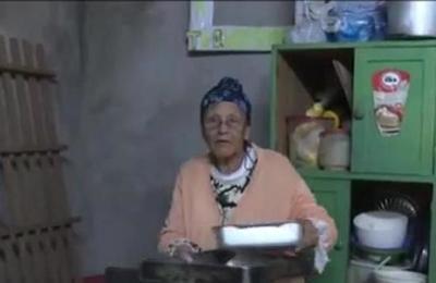 Mamá Guasú Yolanda Alegre sacó adelante a su familia con la repostería