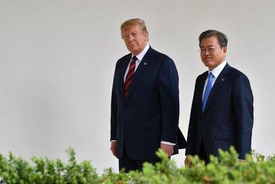 Trump se reunirá con Moon a finales de junio en Corea del Sur
