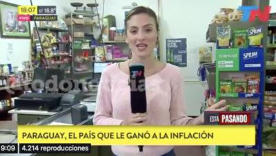 """HOY / """"Paraguay, el país que le ganó a la inflación"""": el destaque argentino a la economía nacional"""