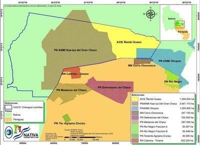 Un millón de hectáreas más para área protegida
