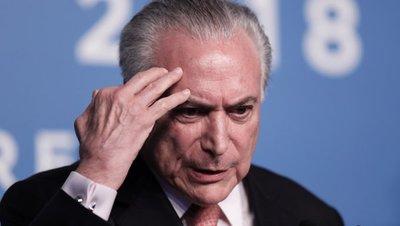 El expresidente Temer deja la cárcel tras decisión judicial