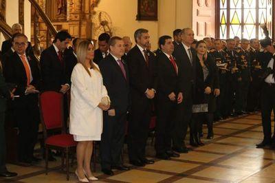 Presidente de la Corte Suprema participó de Misa del Te Deum
