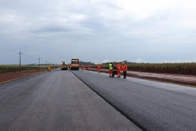 Mañana se abrirán ofertas para pavimentar 58 km en Guairá, San Pedro y Ñeembucú