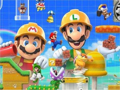 Nintendo incorpora multijugador en su Super Mario Maker 2 para Switch