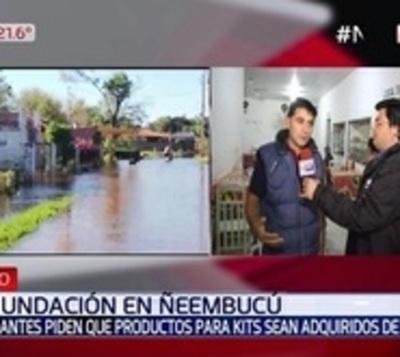 Crisis en la economía pilarense debido a la inundación