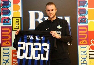 Skriniar renueva con el Inter