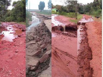 En todo Misiones suman y siguen los pedidos de reparaciones de caminos vecinales