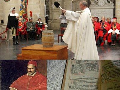 A 414 años de la asunción del Papa que bendijo la cerveza