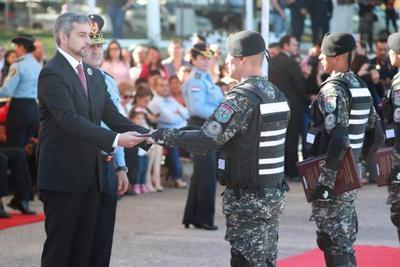 Policía Nacional cuenta con 70 nuevos agentes del grupo Lince