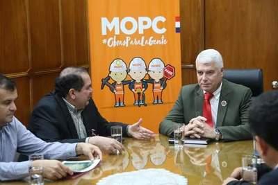 Autoridades piden auxilio al MOPC