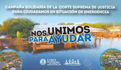 Corte inicia campaña de ayuda para ciudadanos en situación de emergencia