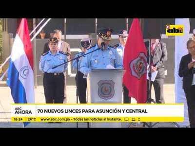 Setenta nuevos linces para Asunción y Central