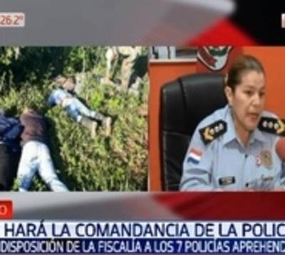 """""""Si hay policías con algo turbio, va a caer el peso de la ley"""""""