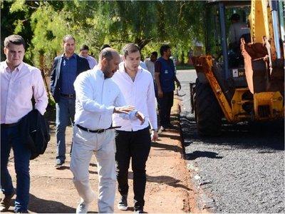 CDE apunta a    propia planta   de asfalto, similar a la de Foz