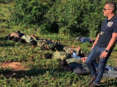Siete policías caen en un operativo antidrogas con 300 kilos de cocaína
