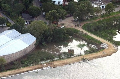 Declaran 'situación de desastre' en Pilar