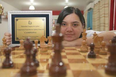 "La ""Reina"" del ajedrez paraguayo"