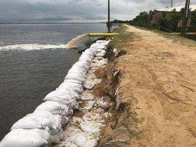 Río Paraguay en Pilar llega a los 8,50 metros