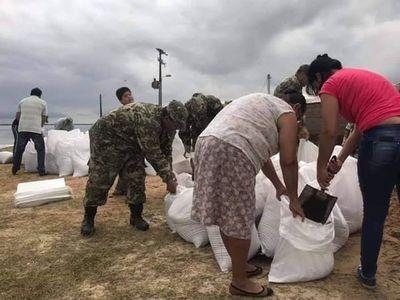 Precisan voluntarios para tareas de refuerzo del muro en Pilar
