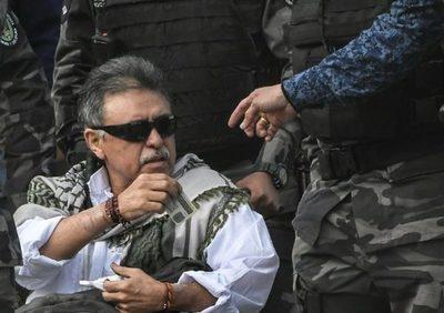 """Juez colombiano """"legaliza"""" captura de exjefe de las FARC en cuidados intensivos"""