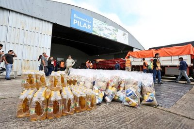 Gobierno nacional entrega más mil toneladas de alimentos a damnificados