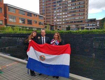 Paraguay, presente en competencia de derecho espacial