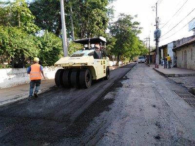 San Lorenzo: Anuncian cierre de calles por obras de recapado