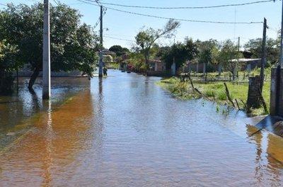 Preocupa el pronóstico de nuevas lluvias para la zona del Ñeembucú